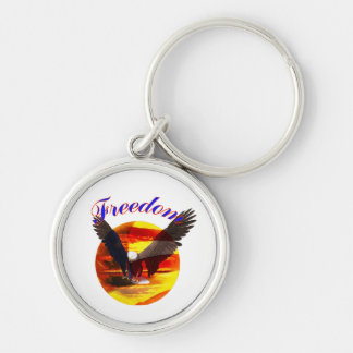 Freedom Eagle Keychain
