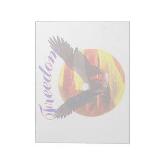 Freedom Eagle Note Pad