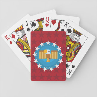 Freedom Eagle (Red) - Playing Cards