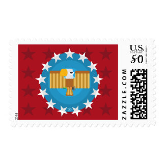 Freedom Eagle (Red) - Stamp