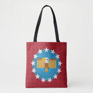 USA Themed Freedom Eagle (Red) - Tote Bag