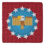 Freedom Eagle (Red) - Trivet