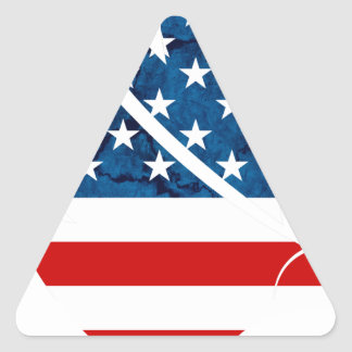 Freedom Eagle USA Triangle Sticker