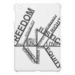 Freedom Equality Justice iPad Mini Cover