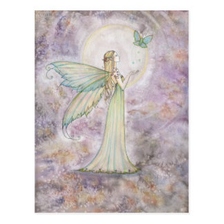 Freedom Fairy and Butterfly Postcard