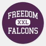 Freedom - Falcons - High - Oakley California Sticker