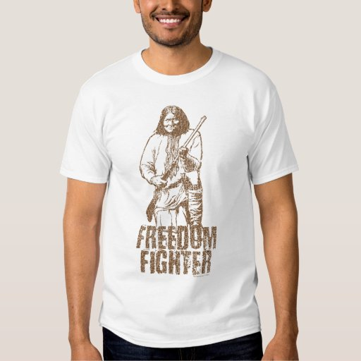 Freedom Fighter Geronimo T-shirt | Zazzle
