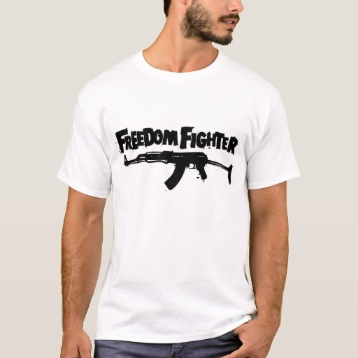 Freedom Fighter T-Shirt | Zazzle