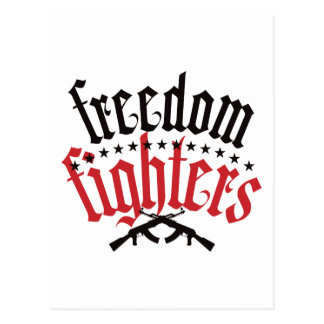 Freedom Fighters AK47 Postcard