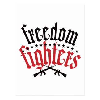 Freedom Fighters AR15 Postcard