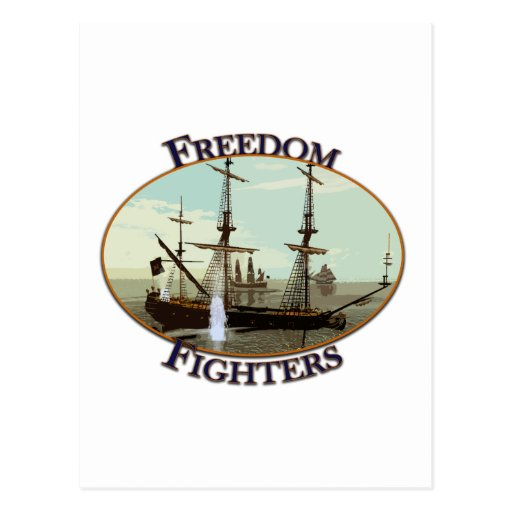Freedom Fighters Post Card
