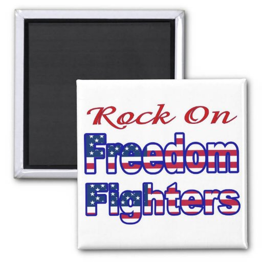 FREEDOM FIGHTERS REFRIGERATOR MAGNET