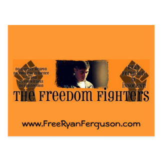 Freedom Fighters Ryan Fergn Postcard
