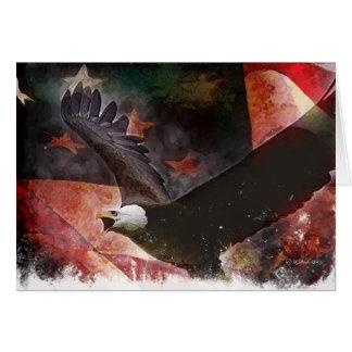 Freedom Flag-b Card