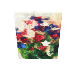 Freedom Flowers #1 Gallery Wrap Canvas