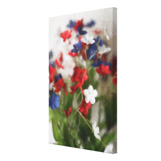 Freedom Flowers #2 Gallery Wrap Canvas