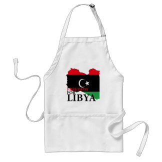 Freedom for Libya Adult Apron