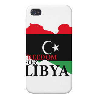 Freedom for Libya iPhone 4 Cases