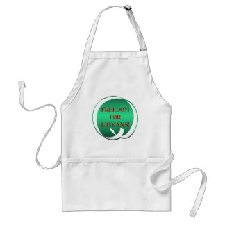 Freedom for Libyans! Adult Apron