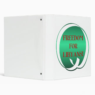 Freedom for Libyans! Binder