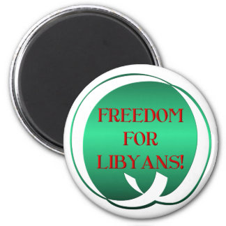 Freedom for Libyans! Magnet