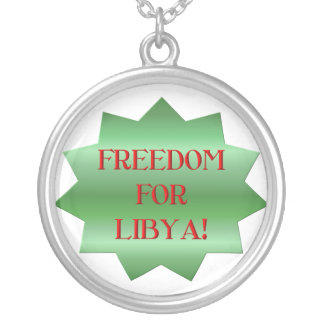 Freedom for Libyans Necklaces
