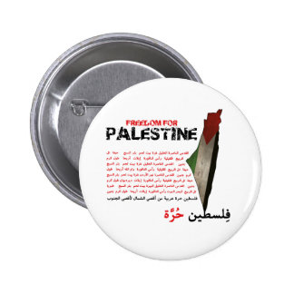 Freedom for Palestine Button