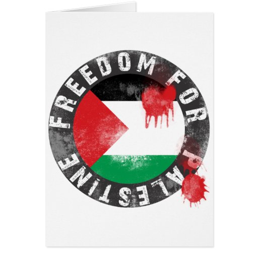 Freedom for Palestine Card