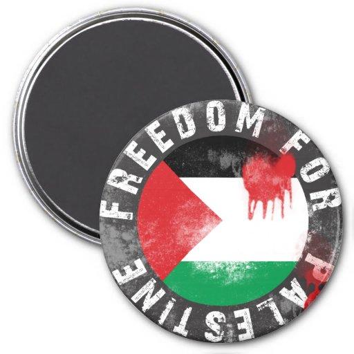 Freedom for Palestine Fridge Magnet
