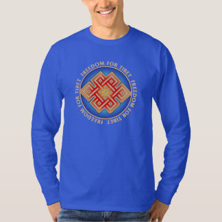 Freedom for Tibet Men's Long Sleeved T-Shirt