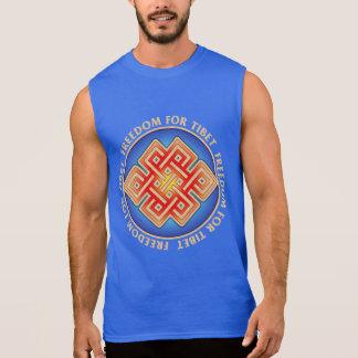 Freedom for Tibet Men's Sleeveless T-Shirt
