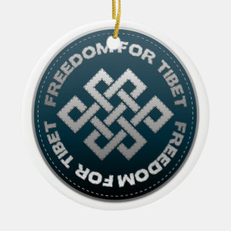 Freedom For Tibet Stitch Ornaments