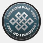 Freedom For Tibet Stitch Stickers
