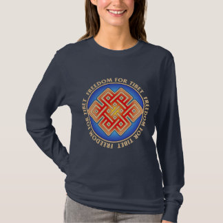 Freedom for Tibet Women's Long Sleeved T-Shirt