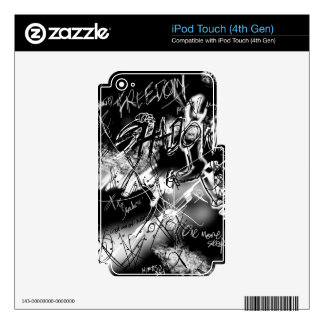 freedom from my Shadow mp3 player skins iPod Touch 4G Skins