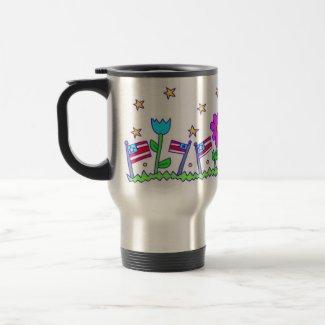 Freedom Garden mug