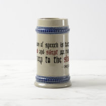 Freedom - George Washington Beer Stein