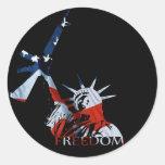 Freedom - Got guns? (Large Dark) Stickers