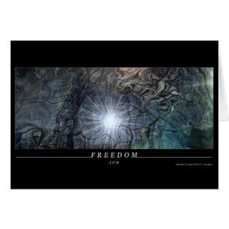FREEDOM GREETING CARD