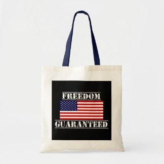 FREEDOM GUARANTEED U.S. Flag Tote Bag