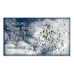 Freedom Hand-out Card Business Cards