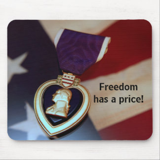 Freedom has a price! mouse pad
