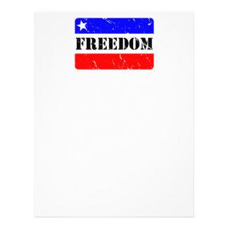 Freedom Home & Office Letterhead