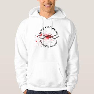 Freedom hoodie2 (Barbed Wire Democratic Enough?) Hoodie