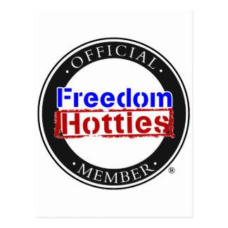 Freedom Hotties - Official Member Postcard
