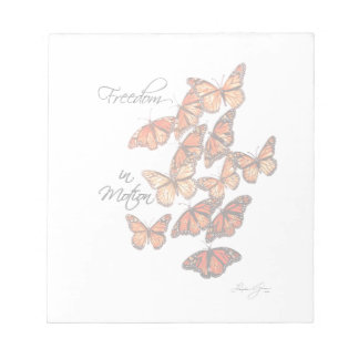 Freedom in Motion Notepad
