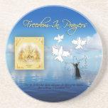 Freedom In Prayer Coaster