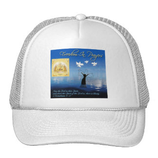 Freedom In Prayers Hat