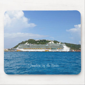 Freedom in St. Maarten Mouse Pad