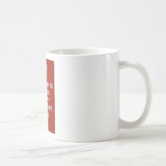 FREEDOM IS IN PERIL DO YOUR PART KEEP FEAR ALIVE COFFEE MUG